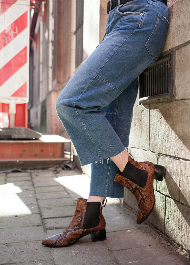 Image result for ankle boots with cropped denims